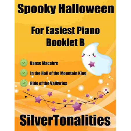 Spooky Halloween for Easiest Piano Booklet B - eBook