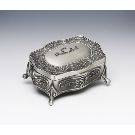 Mullingar Pewter Small Claddagh Jewellery (Claddagh Box)