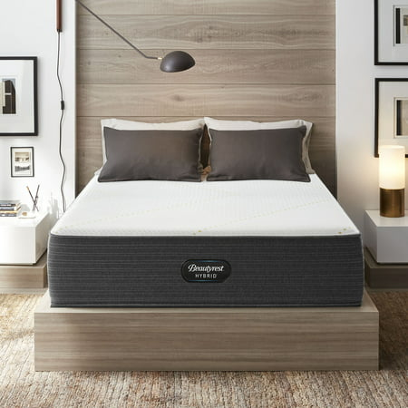 Beautyrest Hybrid BRX3000-IM Ultra Plush Queen Low Profile Mattress Set