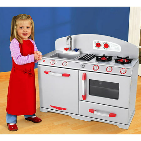 KidKraft Silver Retro Kitchen
