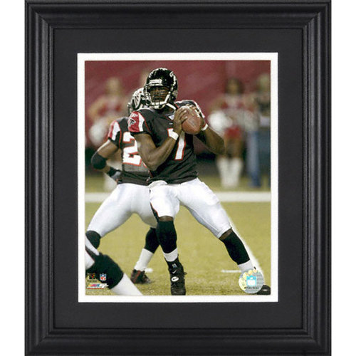 NFL - Michael Vick Atlanta Falcons Framed Unsigned 8x10 Photograph