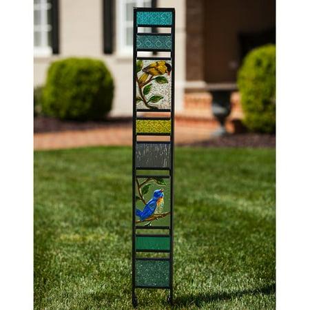 - Evergreen Enterprises, Inc Spring Birds Panel Garden Stake