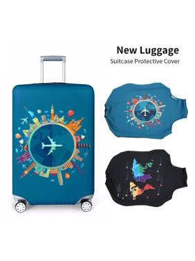 New Elastic Fabric Travel Luggage Protective Cover Trolley Suitcase Case Dust Cover Travel Accessories
