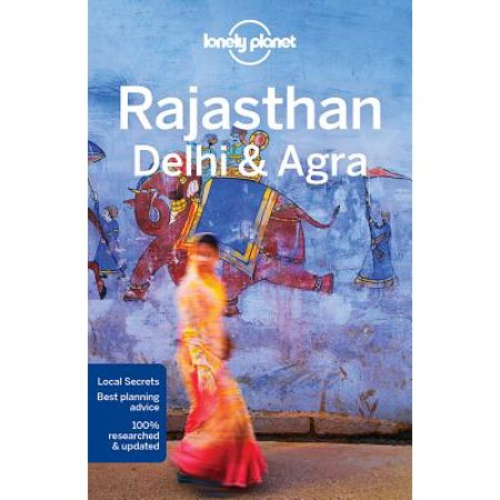 Lonely planet rajasthan, delhi & agra - paperback: (More Store In Delhi)