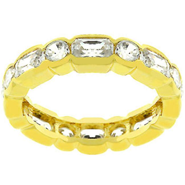Sunrise Wholesale J3093 05 14k Gold Bonded Eternity Ring
