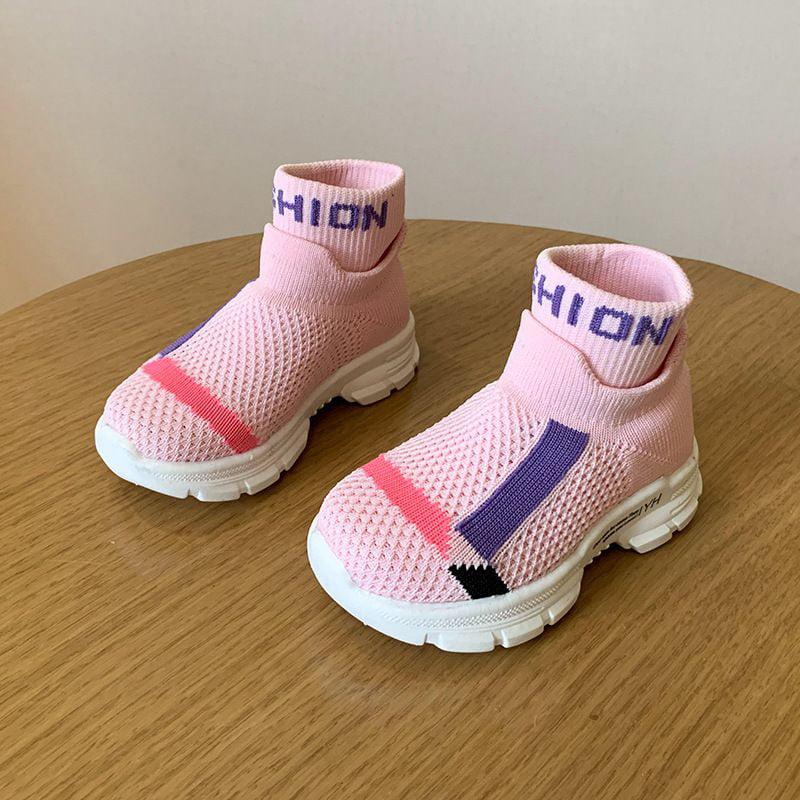 Socks Toddler Kids Booties Cotton Floor Socks Anti Slip Shoes Infant Crib Shoes