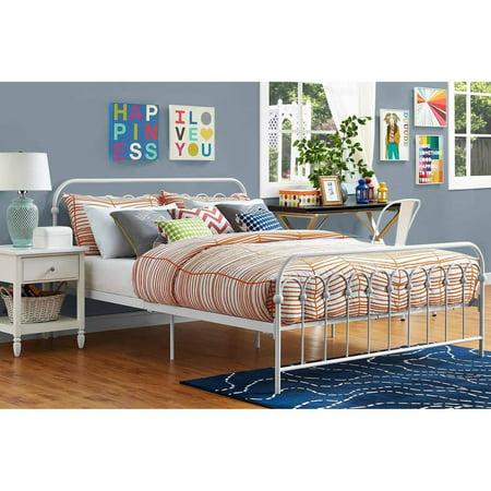 Novogratz Bright Pop Metal Bed Multiple Sizes Multiple