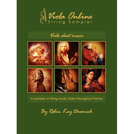 Viola Online String Sampler Viola Sheet Music