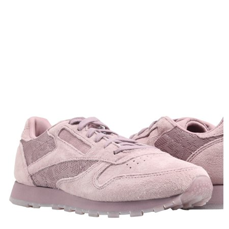 9921a8b745452 Reebok - Reebok Classic Leather Lace Smoky Orchid White Women s Running  Shoes BS6521 - Walmart.com