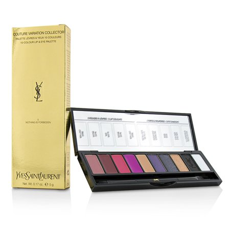 Couture Variation Collector 10 Colour Lip & Eye Palette - # 5 Nothing Is Forbidden-5g/0.17oz