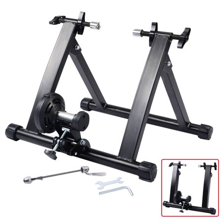 Costway Portable Indoor Exercise Resistance Bicycle Trainer Bike