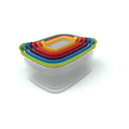 Joseph Joseph Nest Storage Compact Containers , 4-Piece Set - Multi-Colour