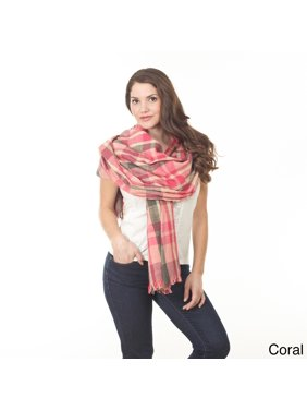 Checkered Design Shawl