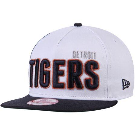 91ebe01a2d1 Detroit Tigers New Era Big Side 9FIFTY Snapback Adjustable Hat - White Navy  - OSFA - Walmart.com
