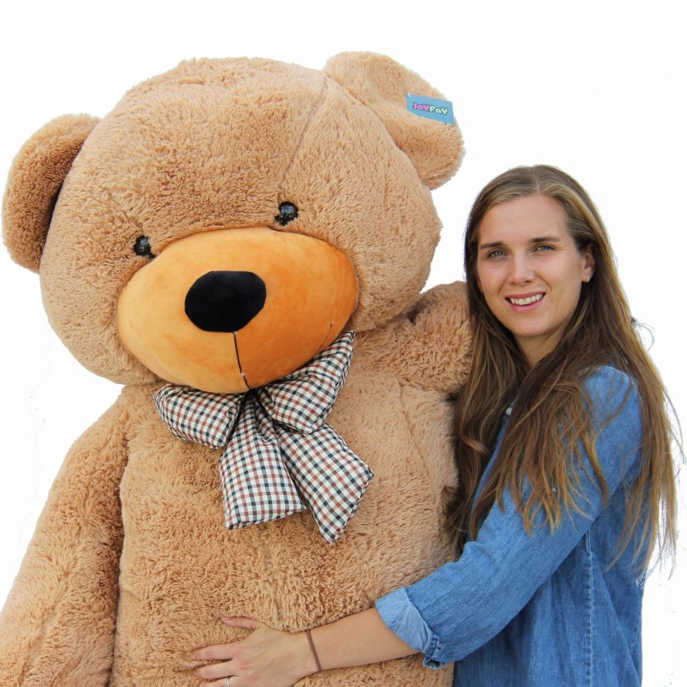 "78/"" 6.5ft super Giant Sleepy teddy Bear case no pp cotton huge Stuffed Toys doll"