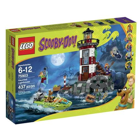 LEGO Scooby-Doo 75903 Haunted Lighthouse Building Kit - Lego Halloween Scooby Doo