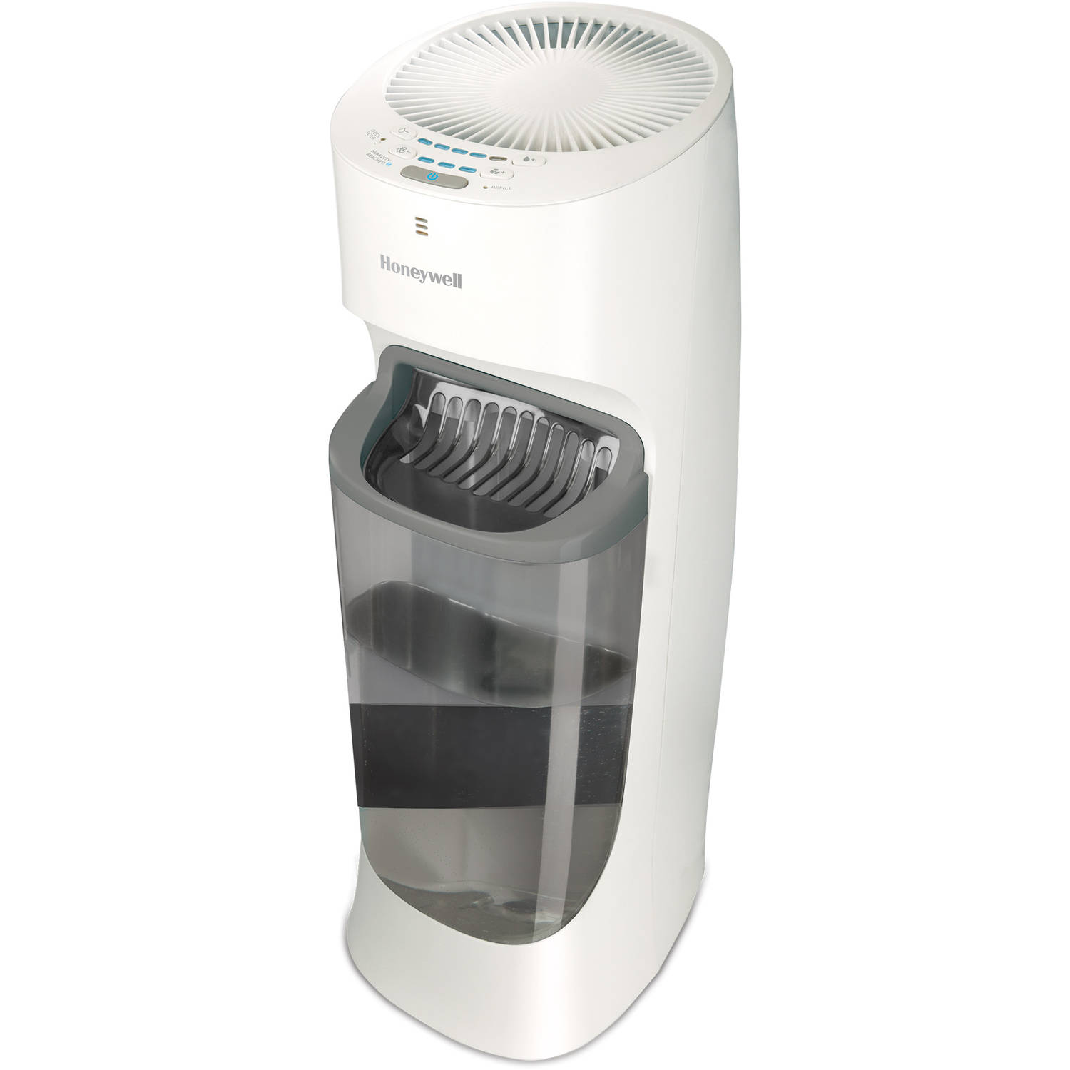 Honeywell Top Fill Tower Humidifier with Humidistat White, HEV615W