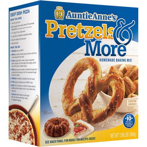 Auntie Anne's Pretzels & More Homemade Pretzel Baking Mix, 1.99 lbs