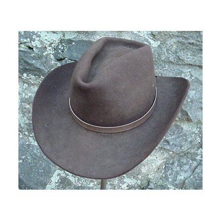 Western Hatband Hat Band Light Brown Snake Skin with Ties
