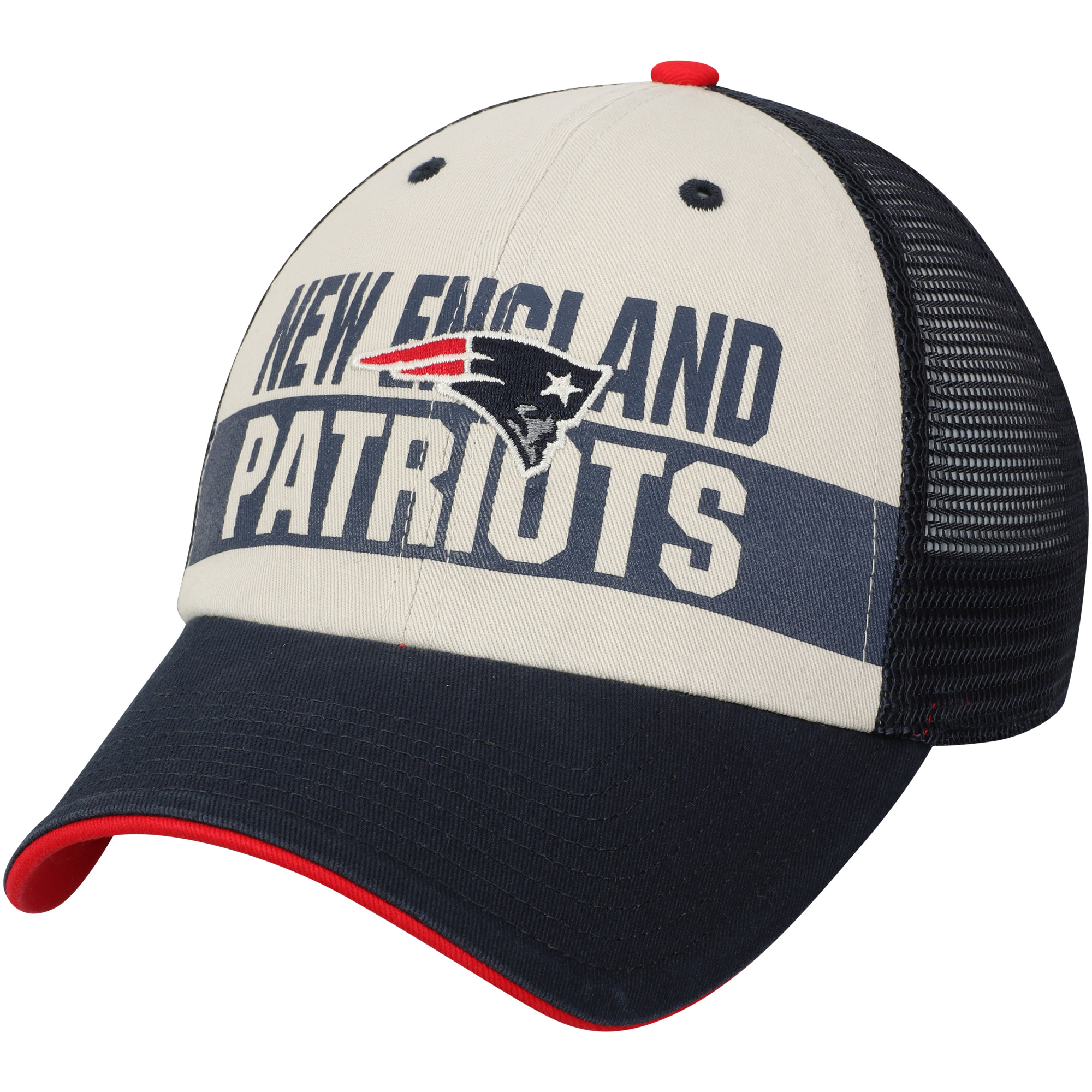 sale retailer 3329c d1e21 ... coupon mens fan favorite navy new england patriots glover snapback hat  osfa walmart ae392 85d67