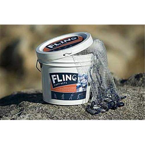 Adventure Products 41201 Fling Cast 4 Foot Net - 0. 5 Inch Mesh