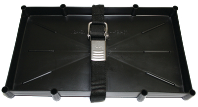 T-H Marine Battery Holder Tray with Stainless Steel Buckle For Series 29 31 Batteries by T-H Marine Supplies