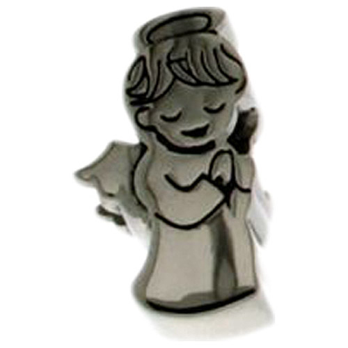 Connections from Hallmark Stainless Steel Angel Charm