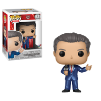 Funko Pop WWE: WWE - S8 - Vince McMahon (In Suit) (Item may vary)