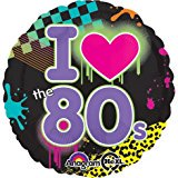 Anagram 18 Inch Foil Balloon - Totally 80s](80s Theme Party Supplies)