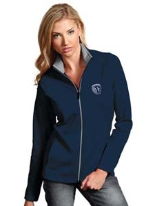 Sporting Kansas City Womens Leader Jacket (Color: Navy) by