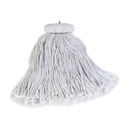 Carlisle Food Service Products Flo-Pac  Kwik-On  Cotton Screw Top Mop (Set of 12)