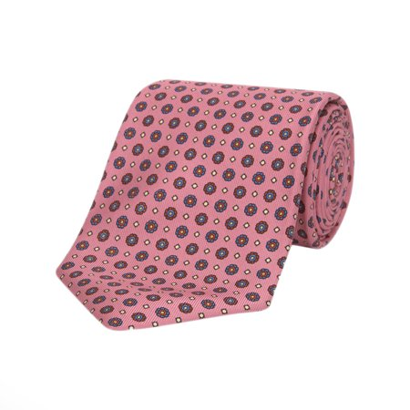 Mens Great Gatsby Outfits (Turnbull & Asser The Great Gatsby Printed Silk Neck Tie)