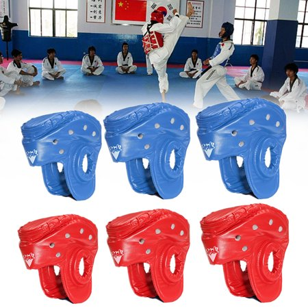 Head Guard - 【Every day special】Youth/Adults Unisex Boxing PU Leather Head Guard Protector Helmet MMA Muay Thai Sanda Taekwondo Protector Headgear Boxing Sparring MMA Martial Arts S/M/L