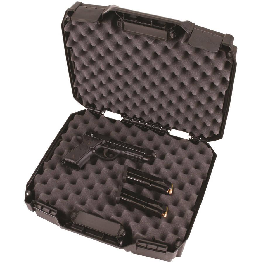 Flambeau Tactical Series Double Deep Pistol Case, Black