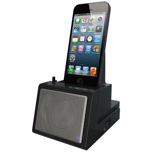 DOK CR12 Portable Universal Cradle with Speaker System - Bluetooth, Rechargeable Battery