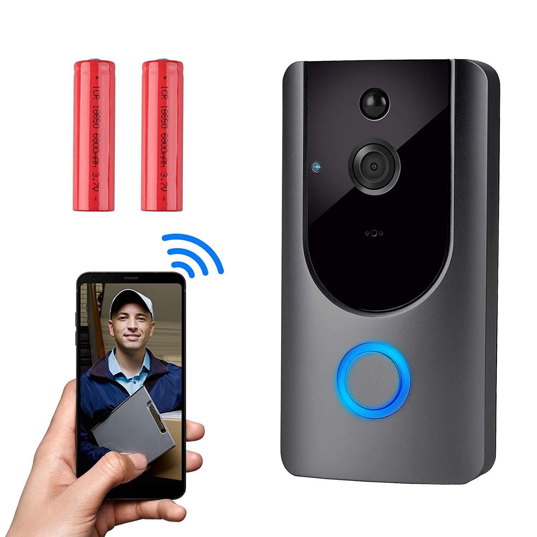 WiFi Wireless Smart Doorbell Video Camera 1080p Intercom Remote Monitoring