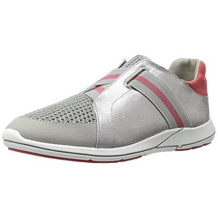 (Aerosoles Womens Side Track Woven Faux Leather Fashion Sneakers)