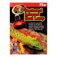 Zoo Med Nocturnal Infrared Heat Lamp, 75 Watt