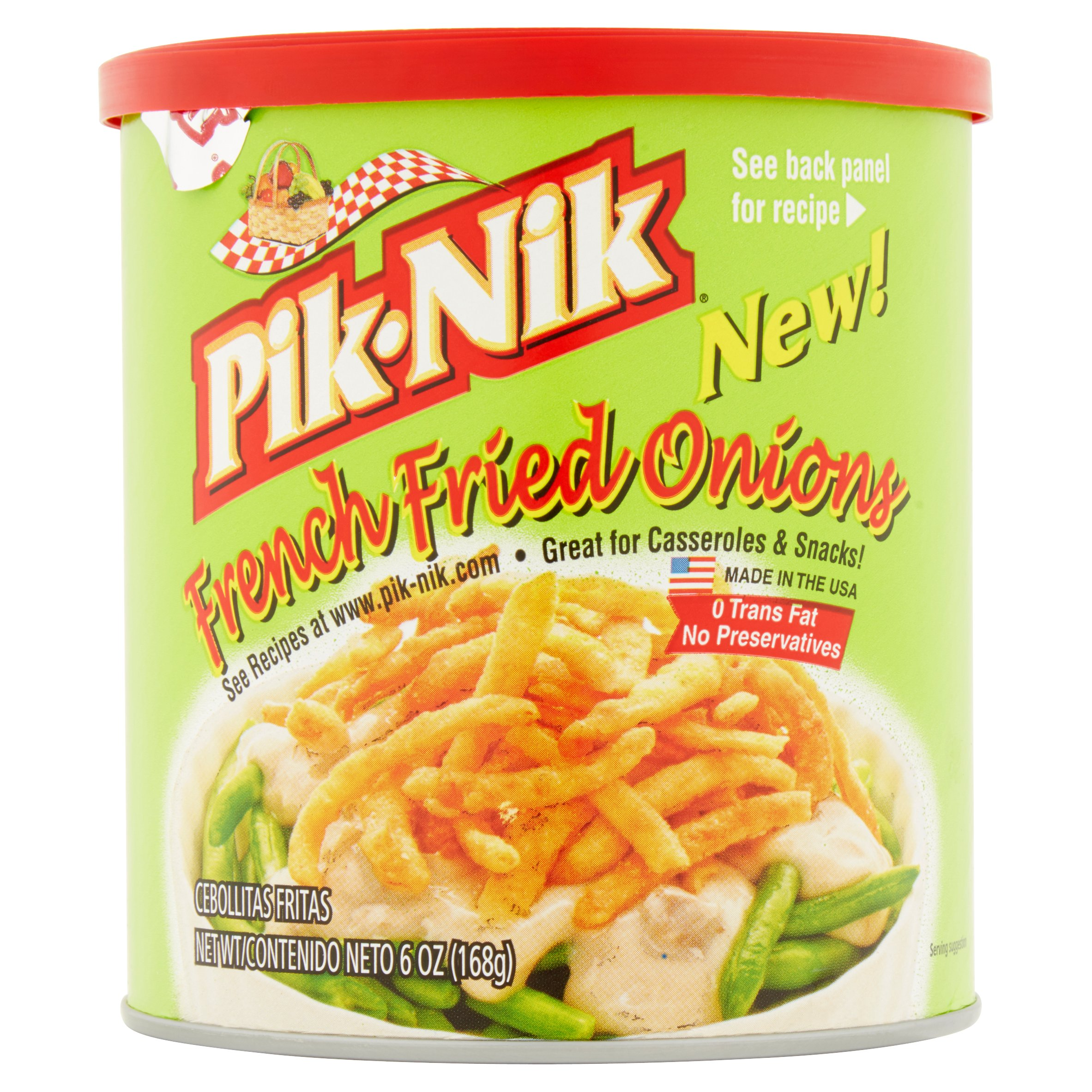 Pik-Nik French Fried Onions, 6 oz