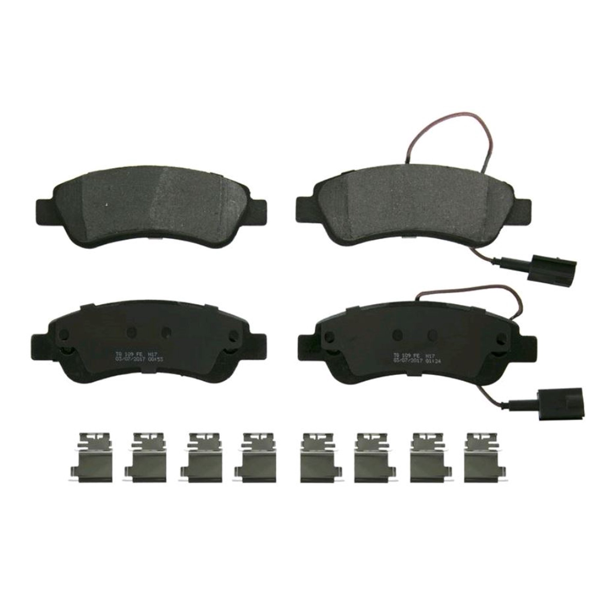 Wagner Brakes SX1490 Brake Pad Severe Duty OE Replacement