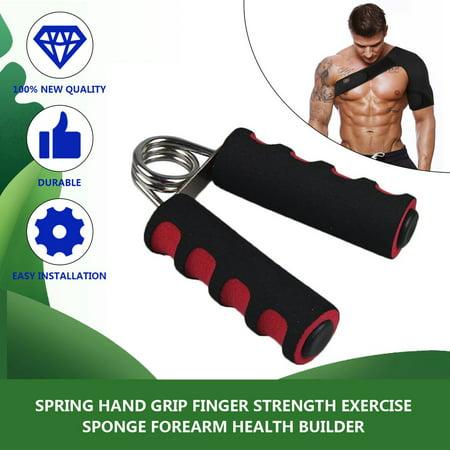 Spring Hand Grip Finger Strength Exercise Equipment Steel Sponge Forearm Health Builder Gym Household Training Tools - image 4 of 8