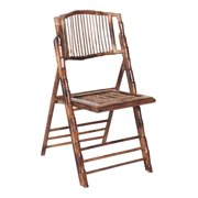 Bamboo Folding Chair - Set of 4