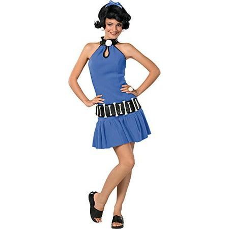 Betty Rubble Teen Halloween Costume- One Size 2-6 - Halloween Room 26 Roma
