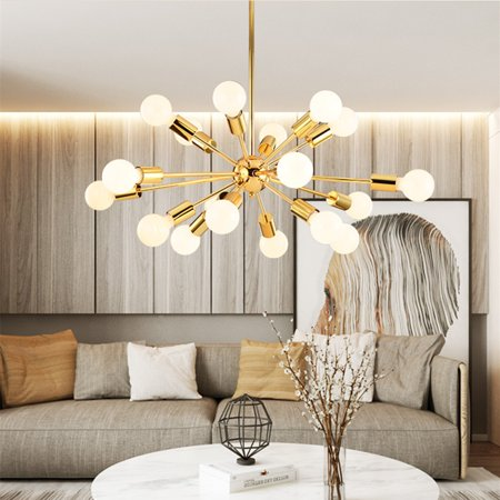Luxury Pendant Chandelier 18 Arms Modern Living Room Bar Ceiling Lights Fixture ()