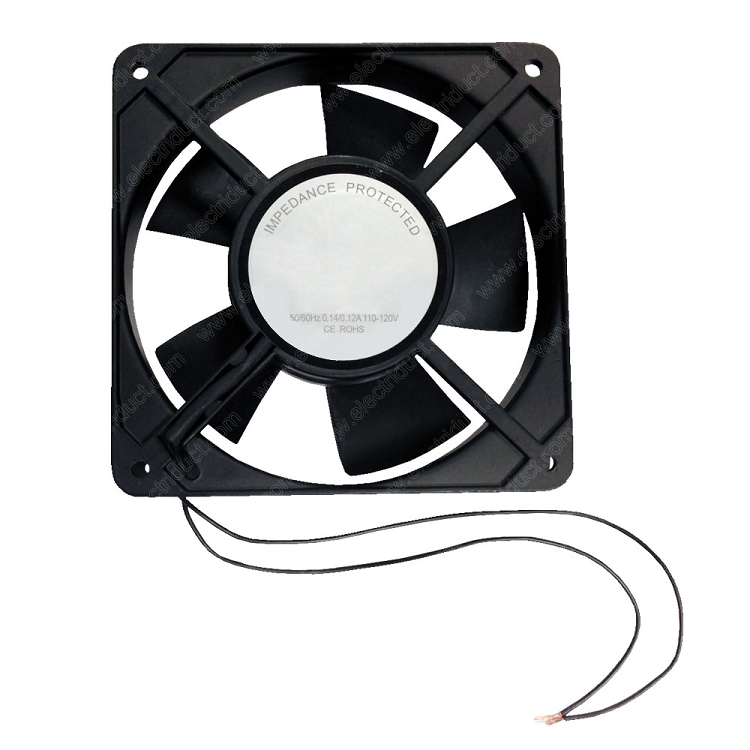 "4"" universal cabinet computer quiet cooling fan system - walmart"