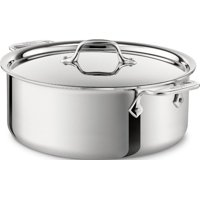 All Clad Stainless Steel 6-Quart Stock Pot with Lid