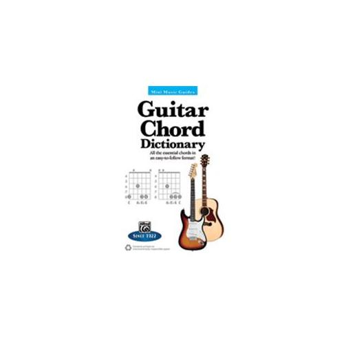 Alfred Guitar Chord Dictionary Mini Music Guides Book ,33501 by Alfred Publishing