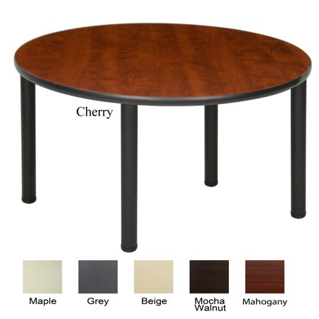 Regency seating 48 inch round table with black post legs 48 round table seats how many