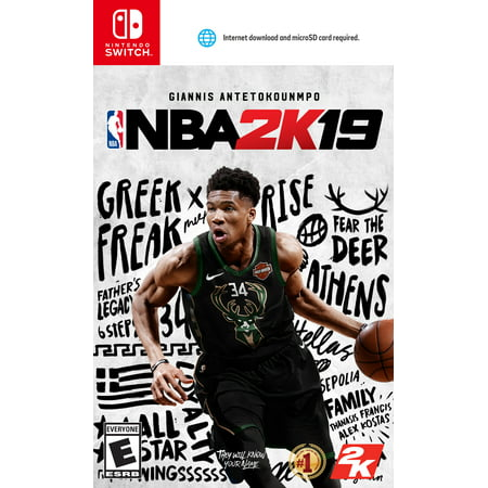 NBA 2K19, 2K, Nintendo Switch, 710425550515