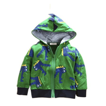 Muppets Animal Hoodie (Stylesilove Boy Cute Animal 3D Hoodie Jacket (3-4 Years,)